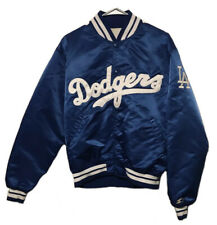 Vintage 1980s Los Angeles Dodgers Starter Jacket Diamond Collection Adult Large