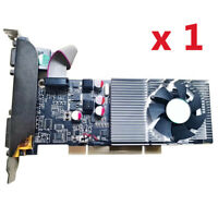 1 x GT610 1GB DDR3 VGA+DVI+HDMI PCI Video Graphic Card For Windows Vista 64-bit