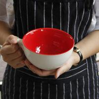Ceramic Coffee Mug Kids Porridge Bowl Large Capacity 600ML Beer Milk Tea Cup