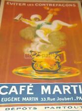 CAPPIELLO_BAR_CAFFETTERIA_CAFFE'_PARIGI_MARTIN_DECORATIVO REPRINT PUBBLICITARIO
