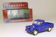 Land Rover Weathered Blue Vanguards Va07606 1/43 Corgi UK RHD Bleu blau