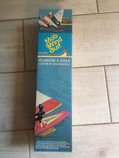 Ancien jouet Planche à voile Mob plastique neuf emballage années 80