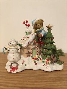 Cherished Teddies Anders 4005476 Lighted Christmas Sweet Surprises