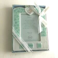 """Precious Moments 2003 Sister Ceramic Picture Frame Pix 3.5X5""""  New in Wrap"""