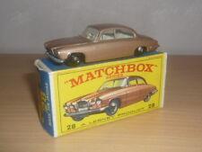jaguar mark ten n'28 matchbox en boite