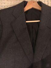 Pringle Of Scotland - Grey Men's  Herringbone Wool Blazer UK 40 RRP £1250