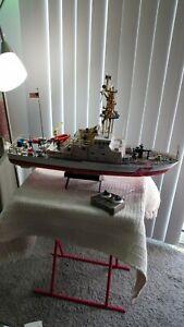 Vintage RC Patrol Boat USCG Coast Guard Radio Control Vessel NKOK 27 MHz 1:48