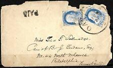 909 - USA - 1851 -  COVER - FORGERY FAUX FALSE FALSO