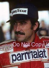Clay Regazzoni Ferrari F1 1976 fotografía de retrato