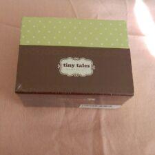 New Tiny Tales Keepsake Baby Memory Kit Box Capture The Memories Baby Shower C9