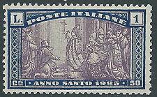 1924 REGNO ANNO SANTO 1 LIRA MNH ** - Y160