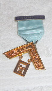 Masonic Founders Jewel, No inscription by Toye, Silver gilt