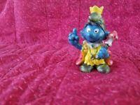 The Smurfs Schleich® Figure - King Smurf 1978-Hong Kong