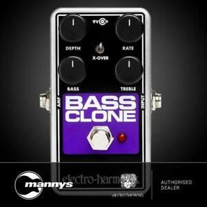 Electro Harmonix Bass Clone Bass Chorus Pedal