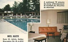 Motel Joliette JOLIETTE Quebec Canada Advertising Postcard