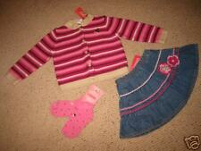 GG6+ NWT 2T 2 Gymboree Pretty in Plums 3pc cardigan lot