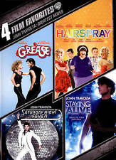 Grease/Saturday Night Fever/Hairspray/Staying Alive John Travolta DVD