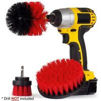 Handheld Electric Cordless Power Scrubber Drill Brush Cleaning Attachment Kit