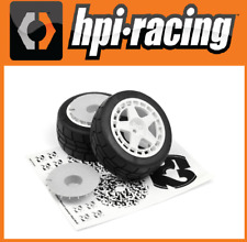 HPI 114114 fifteen52 TURBOMAC WHEEL/GYMKHANA TIRE SET (2PCS) WR8