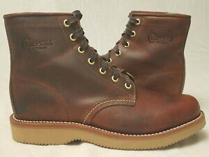 Chippewa Womens Work Boots - USW 9, EU 39.5 Leather Vibram USA Made [Never Worn]