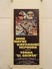 TORNA EL GRINTA western regia Stuart Millar locandina orig. 1975