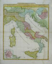 Antique Map of Italy by Jean Baptiste D'Anville 1784