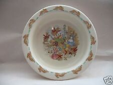 Royal Doulton Baby Youth Plate Bowl Bunnykins Albion English Fine Bone China