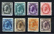CANADA Queen Victoria 1897-1898 The Definitive Set  SG 141 to SG 149 VFU & Mint