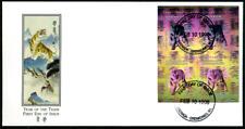 """Grenada Grenadinen 1998 """"Jahr des Tigers - Hologramm"""", MiNr 2664 Kleinbogen"""