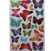 3D Wandsticker Wanddeko Wandtattoo Wandaufkleber Schmetterling