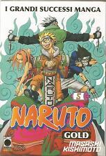 MANGA - Naruto Gold N° 5 -  Versione Deluxe - Planet Manga - USATO Ottimo