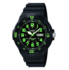 Casio MRW-200H-3BVDF Black Resin Strap Watch For Men