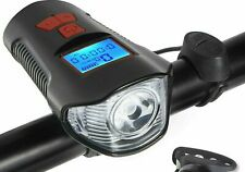 Bike Bicycle Speedometer Cycle Odometer MPH KMH WATERPROOF BIKE HEADLIGHTS