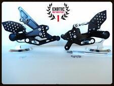 Yamaha FZ8 2010-2013 NON ABS CNC Billet Adjustable Rear sets Foot Pegs