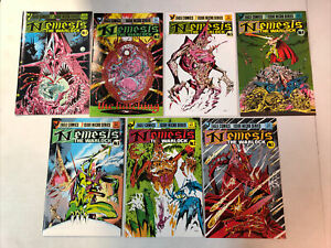 Nemesis The Warlock (1984) #1 2 3 4 5 6 7 (VF/NM) Complete Set Kevin O'Neill art