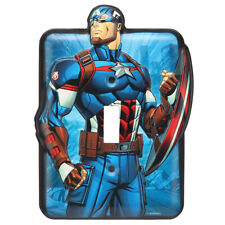 Captain America Metal Switch Plate