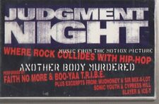 judgment night sampler cassette new promo faith no more & boo yaa t.r.i.b.e.