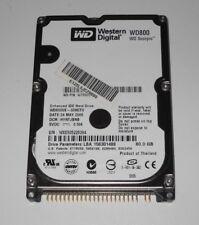 """HARD DISK WESTERN DIGITAL WD800 SCORPIO 80GB IDE 2.5""""  WD800UE-00HCT0"""
