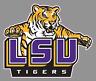 "Louisiana State University LSU Tigers 6"" Premium Vinyl Decal Bumper Sticker NCAA"