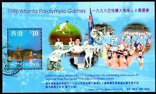 Hong Kong 1997 Atlanta Paralympic Games (96) S/S SGMS898 Fine Used