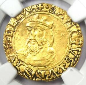 1501-1600 Italy Lucca Gold Scudo d'Oro Gold Coin - Certified NGC AU Details