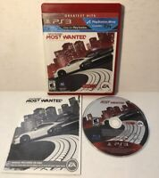 Need for Speed: Most Wanted (Sony PlayStation 3, 2012) PS3 Complete CIB Tested