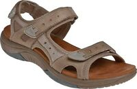 Rockport Cobb Hill Fiona Sandal (Women's) in Taupe Full Grain Leather - NEW