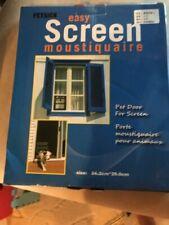 """Pet Door for Screen Installation 8"""" x 10"""" New in Box"""