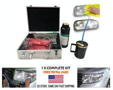 UV Coating Headlamp Repair Tool Kit Professional Car Headlight Vapor Restoration