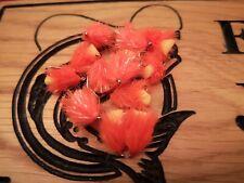 per pesca alla trota 4 Arancione Holo Nero diawlbach/'S piscia trota mosche Diawlbach