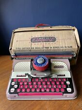 METTOY TINPLATE ELEGANT TYPEWRITER BOXED, c1950's