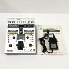 Roland V-4 4Channel Video Mixer Switcher Effects Japan - Power Tested only [TG]