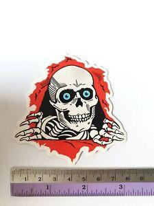 SANTA CRUZ Skull Head Sticker Bomb Scary Cartoons Skateboard Stickers