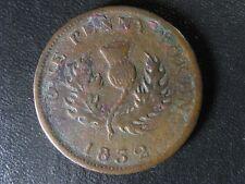 NS-2B1 One penny token 1832 Canada Nova Scotia PNS-401 Breton 870